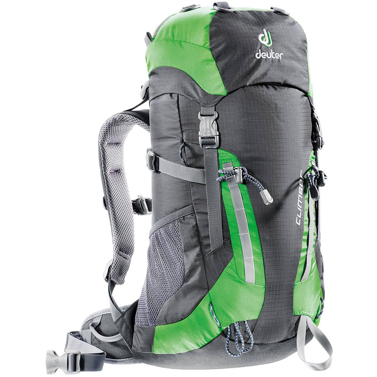 Deuter Climber Backpack - Anthracite/Spring