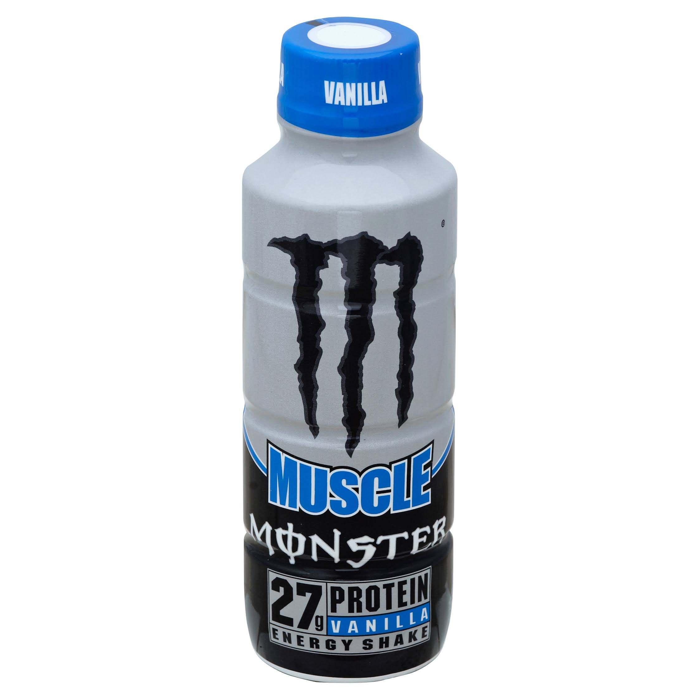 Monster Muscle Energy Shake, Vanilla - 15 fl oz