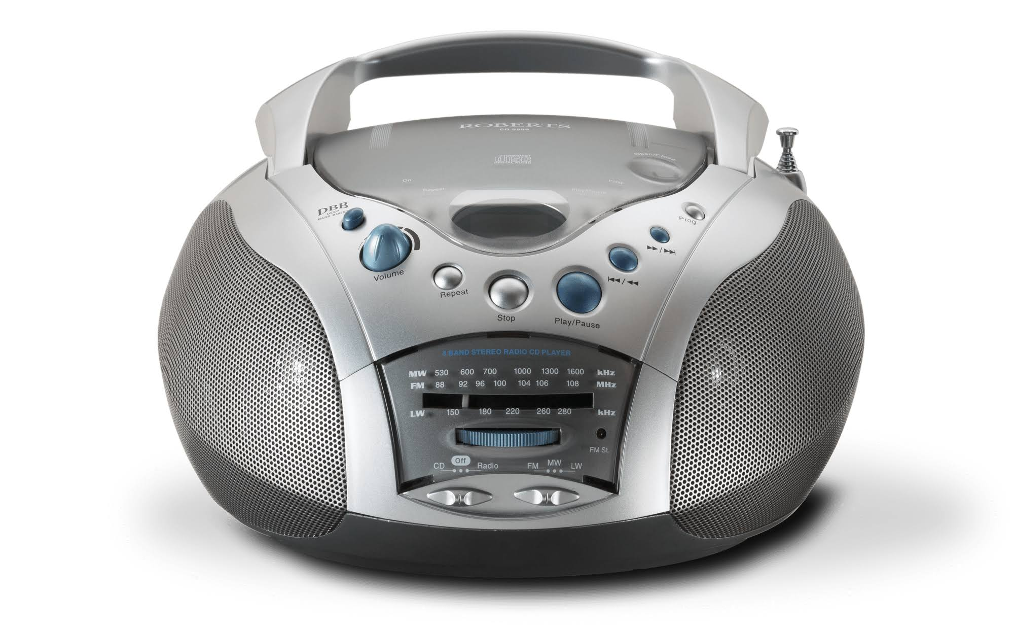 Roberts Swallow CD Player - Silver