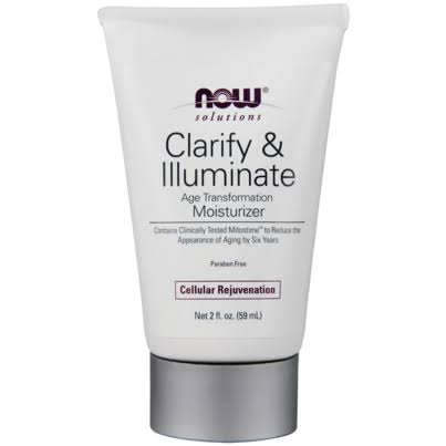 Now Foods Clarify & Illuminate Age Transformation Moisturizer - 2 fl oz tube