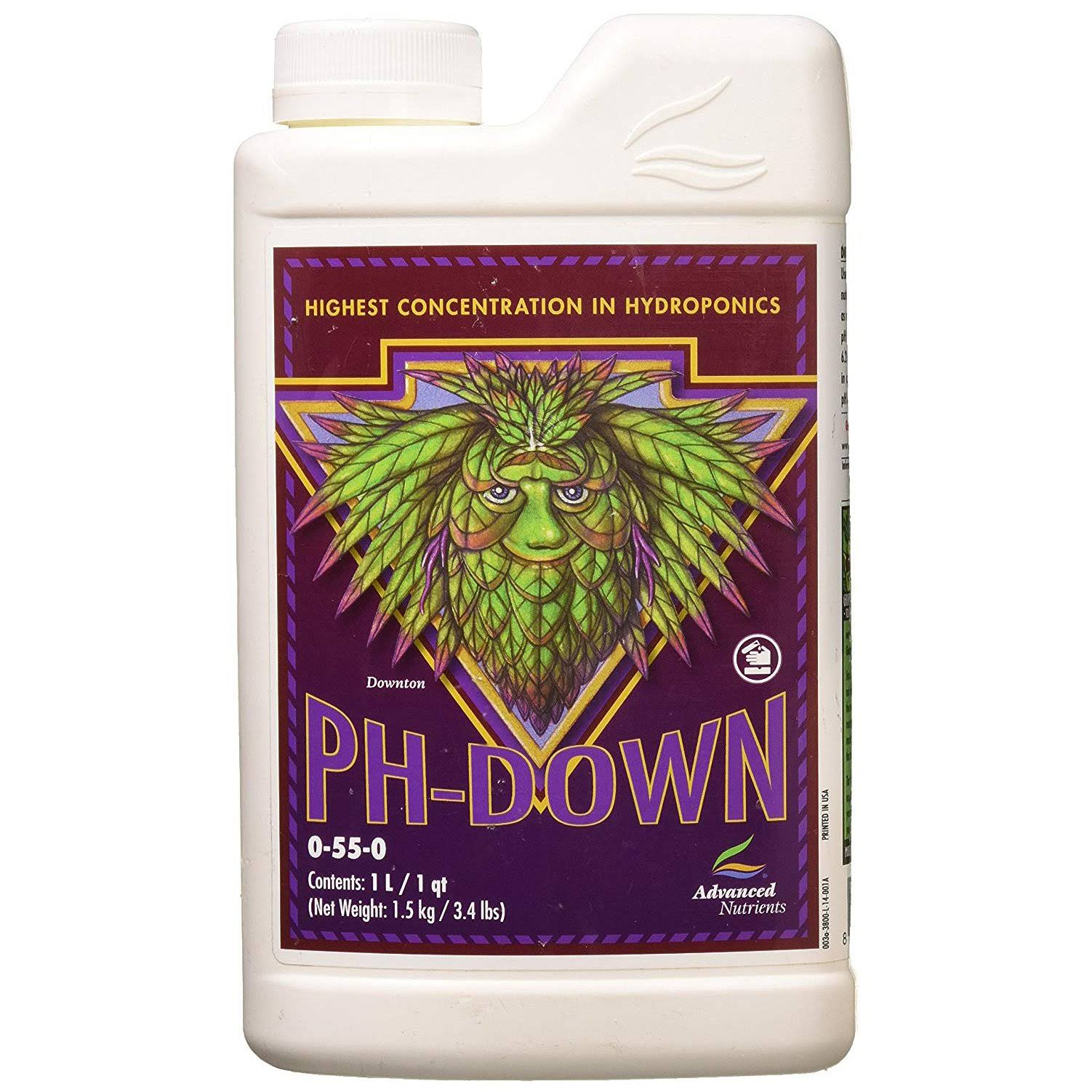 Advanced Nutrients pH-Down Fertilizer - 1L