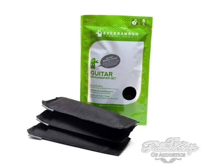 Ever Bamboo Guitar Dehumidifier Bag Set - with Bamboo Charcoal, 150g