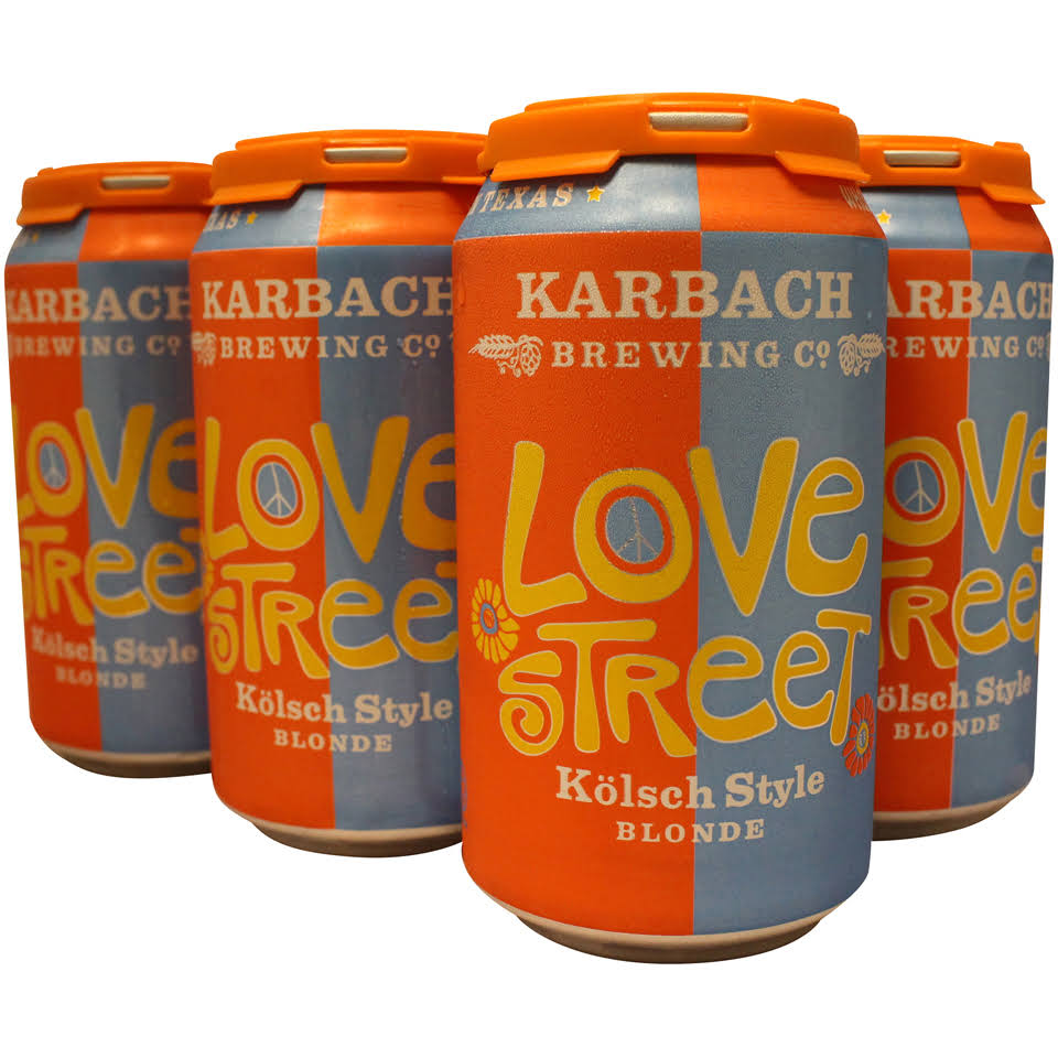 Karbach Love Street Beer - 6 Pack