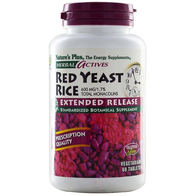 Nature's Plus Red Yeast Rice Nutritional Supplement
