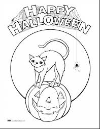Scary Halloween Coloring Pages Online by Unbelievable Blank Pumpkin Coloring Pages With Halloween Pumpkin