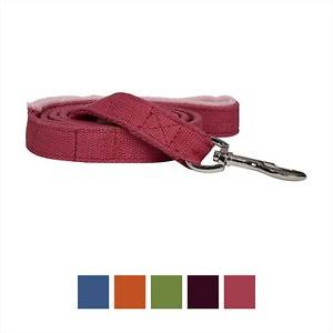 Planet Dog Lil Hemp Dog Leash with Fleece Lined Handle - Pink, 5'