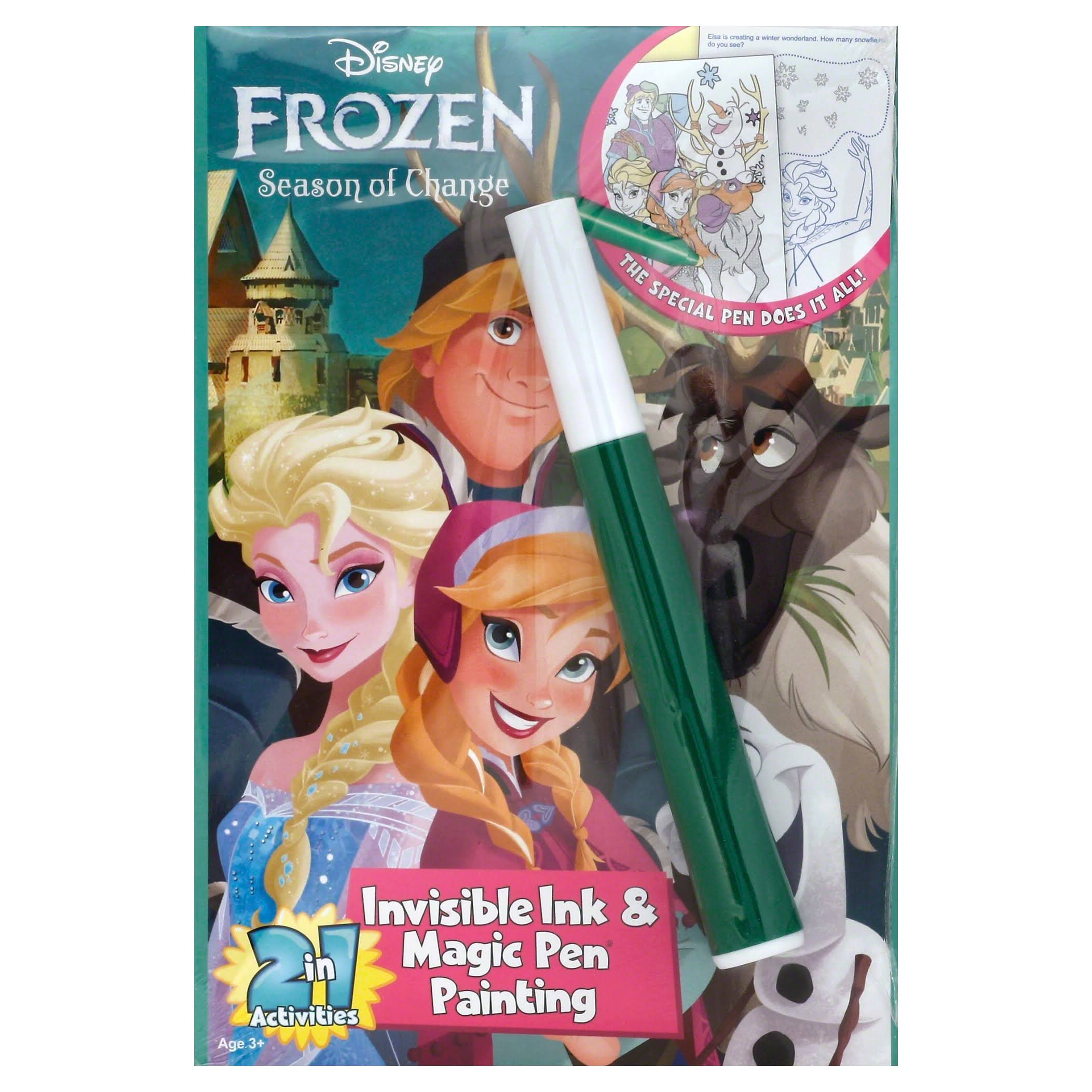 Disney Frozen Season of Change Invisible Ink and Magic Pen Painting Set