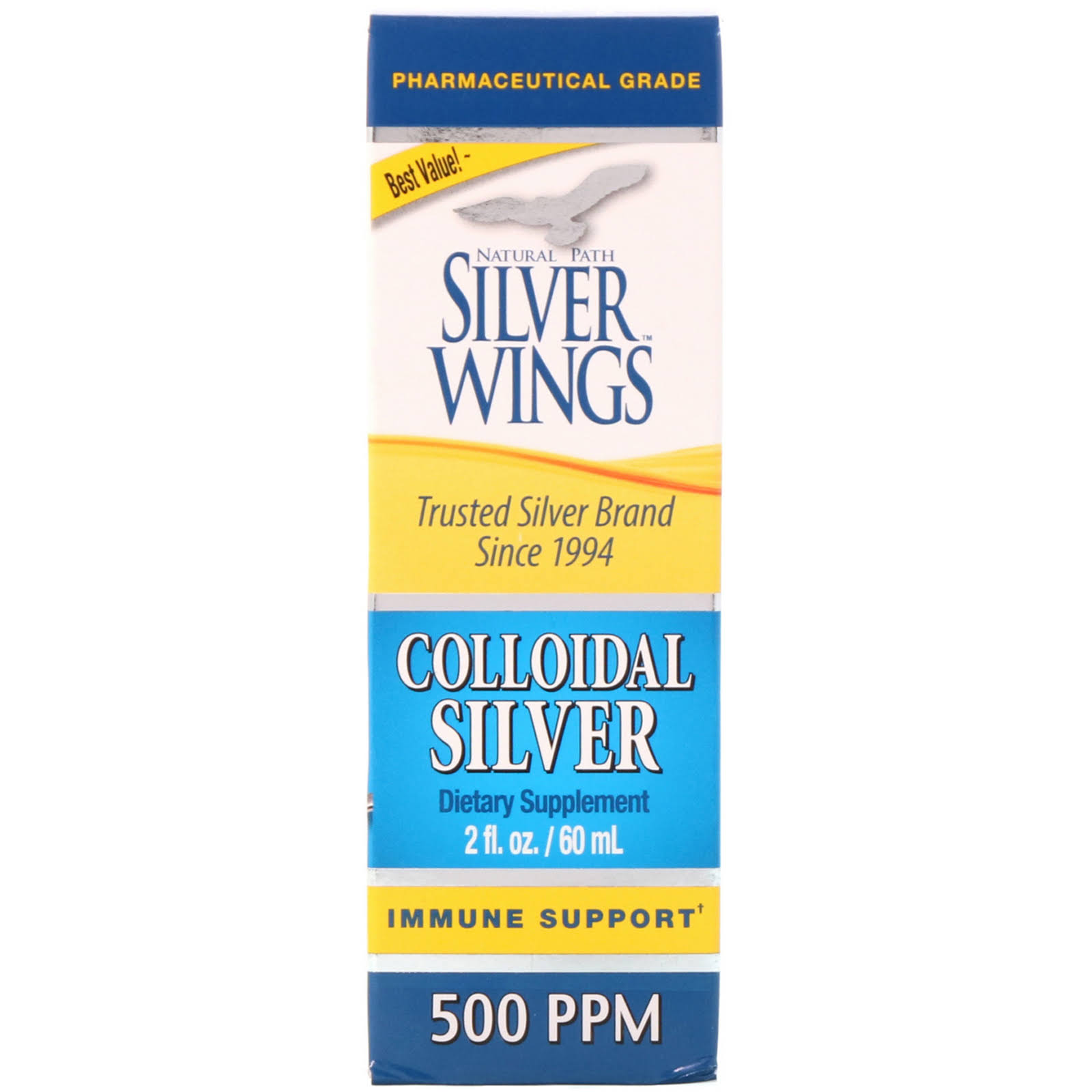 Natural Path Silver Wings Colloidal Silver - 50ml