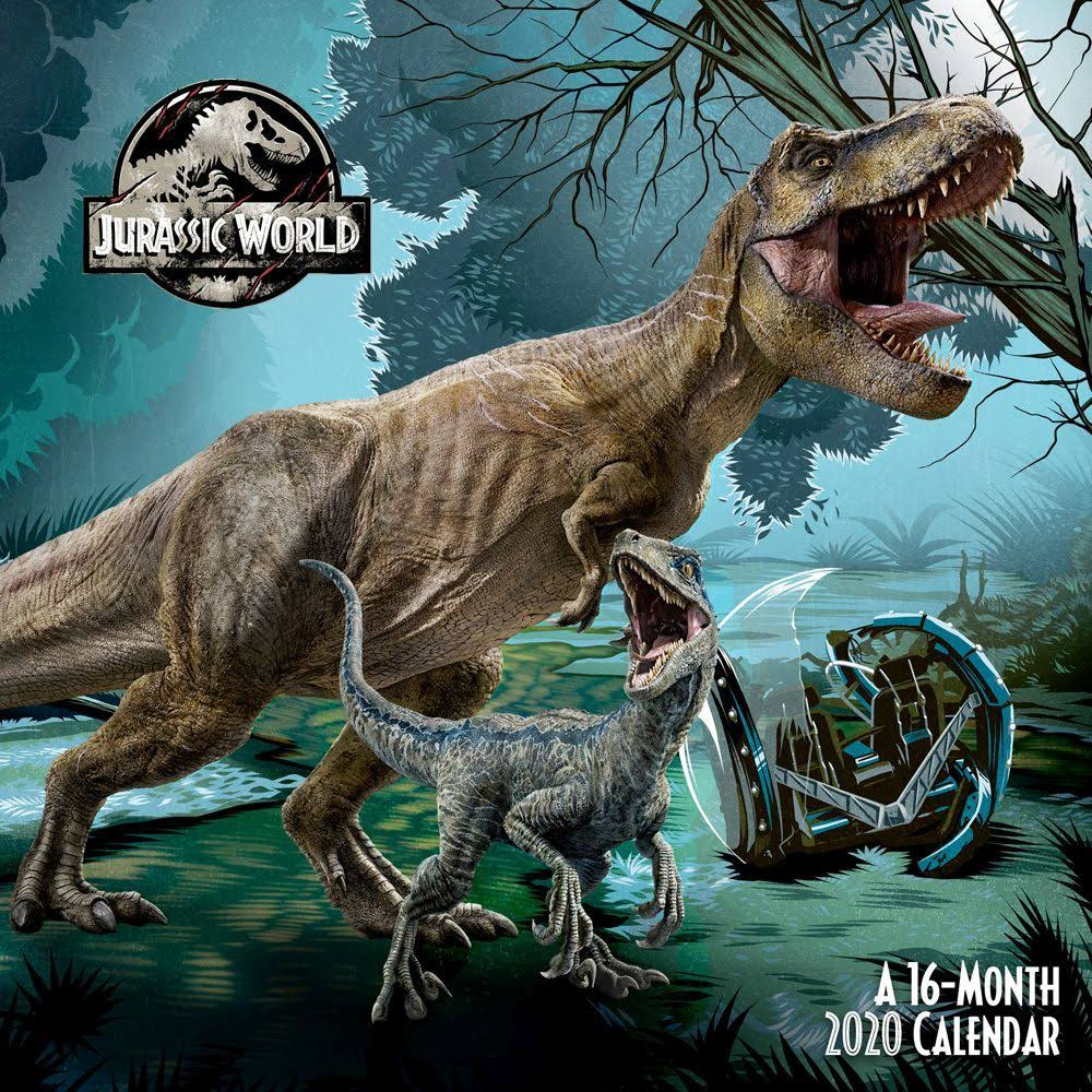 Trends International Jurassic World 2020 Mini Wall Calendar