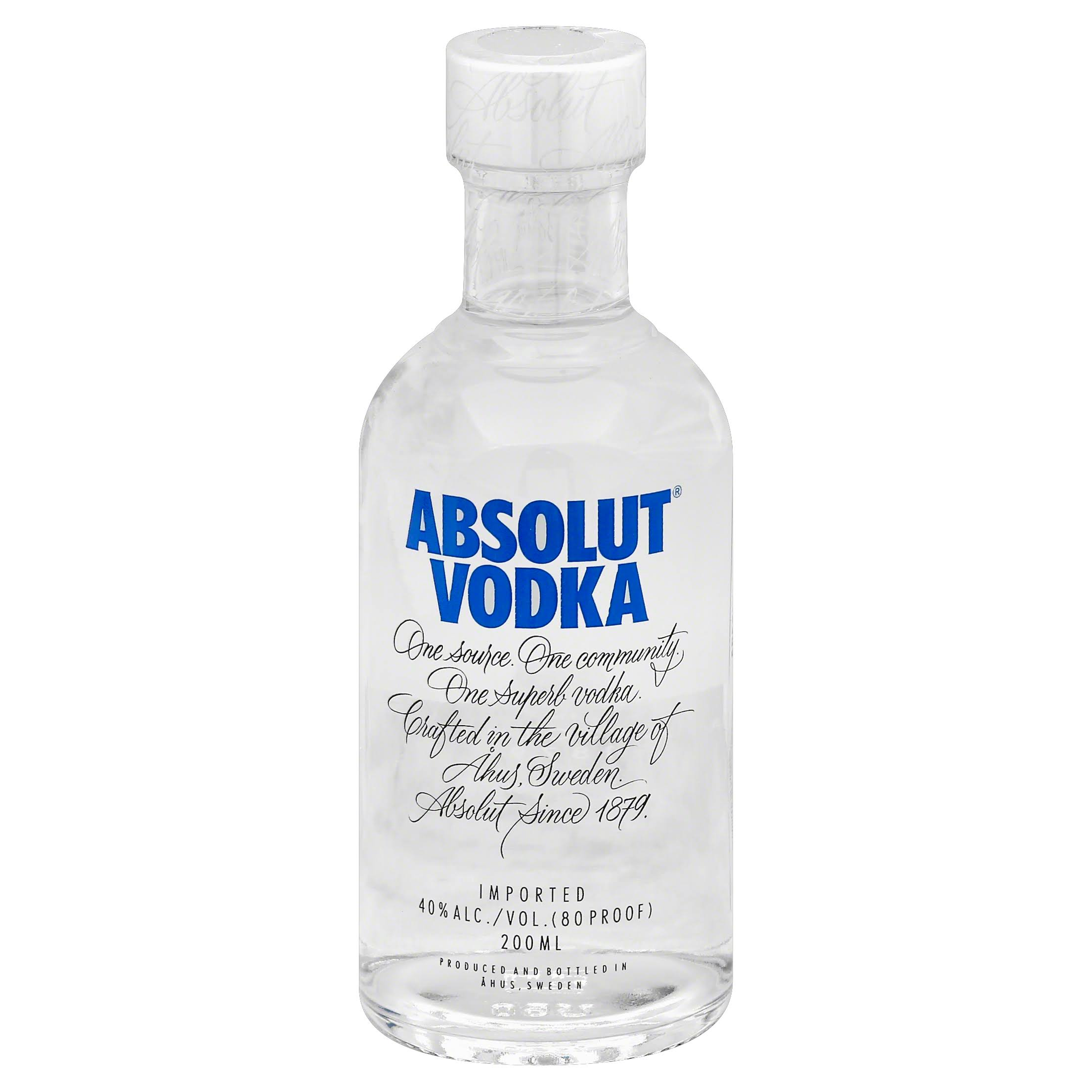 Absolut Vodka - 200ml