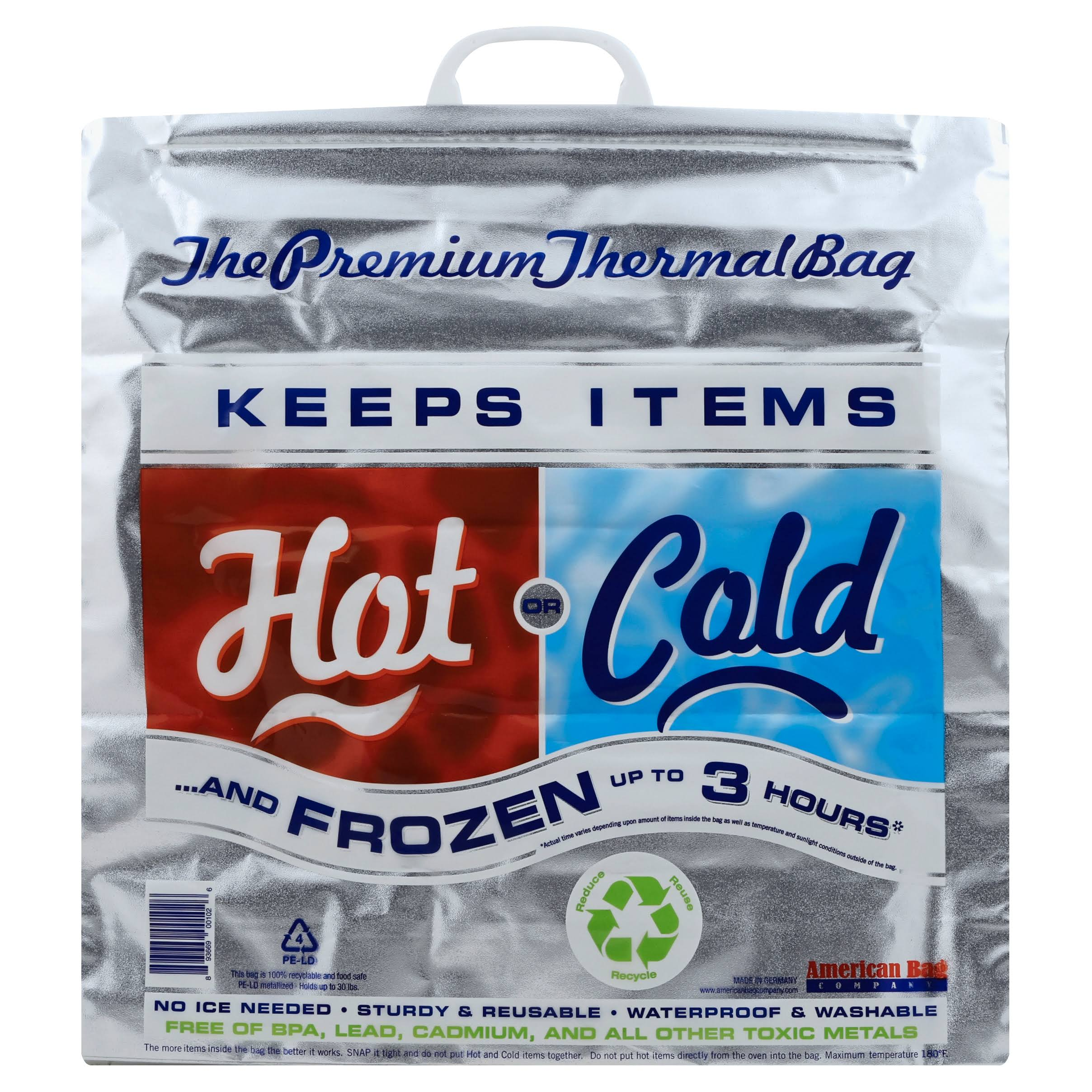 The Premium Thermal Bag Hot or Cold