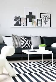 Living Room Ideas Ikea 2015 by 20 Of The Best Colors To Pair With Black Or White Living Rooms
