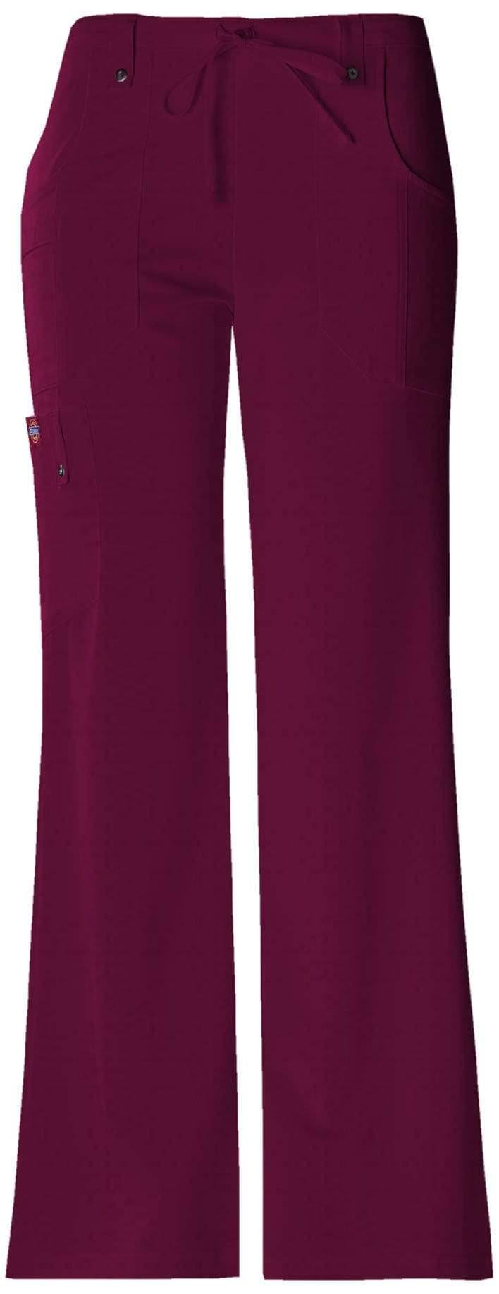 Dickies Women's Xtreme Stretch Drawstring Flare Scrub Pants
