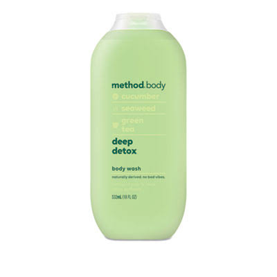 Method Deep Detox Body Wash - 18oz