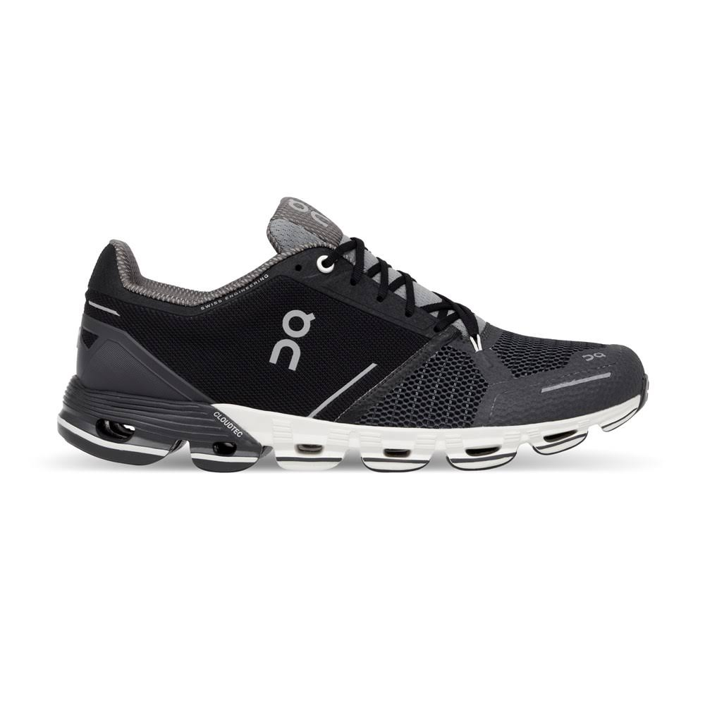 On Cloudflyer Mens Running Shoe - Black, 8 US