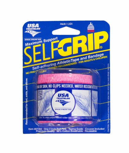 "Self Grip Max Support Athletic Tape - Pink, 2"" x 70"""