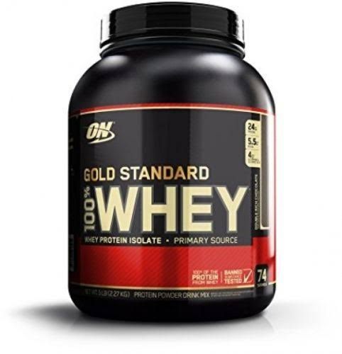 Optimum Nutrition Gold Standard 100 Whey Protein Powder - Double Rich Chocolate, 5lb