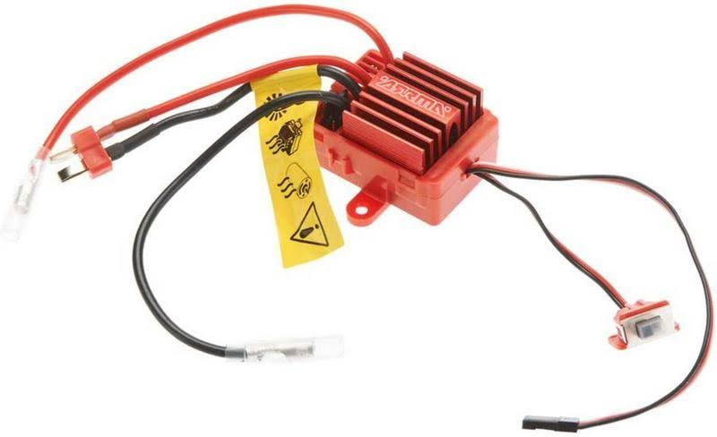 Arrma Mega 12T Brushed Esc Electronic Speed Controller - Red