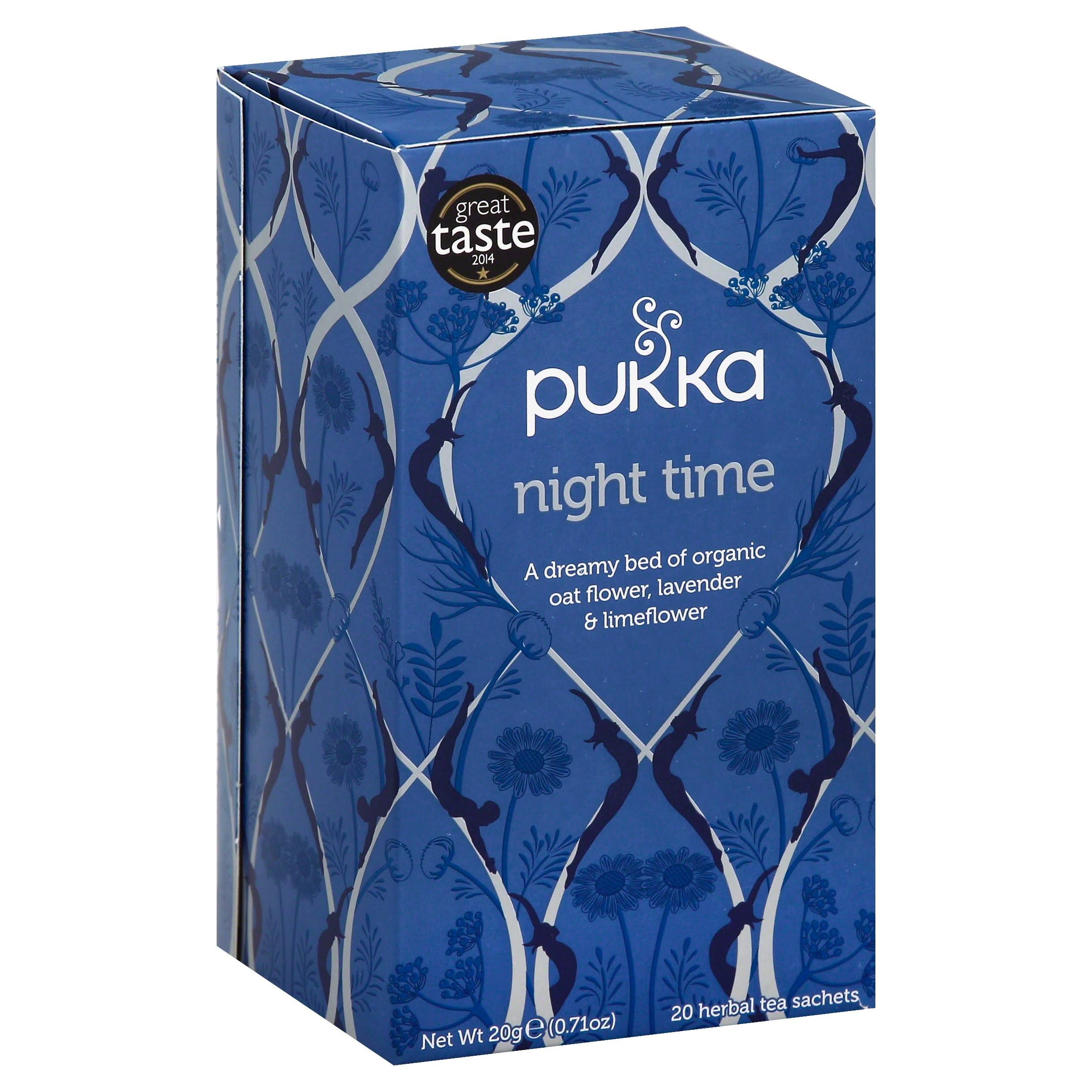 Organic Night Time Herbal Tea