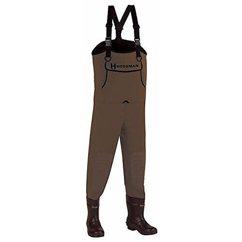 Hodgman Men's Caster Neoprene Cleated Bootfoot Chest Waders - Brown, Size 10