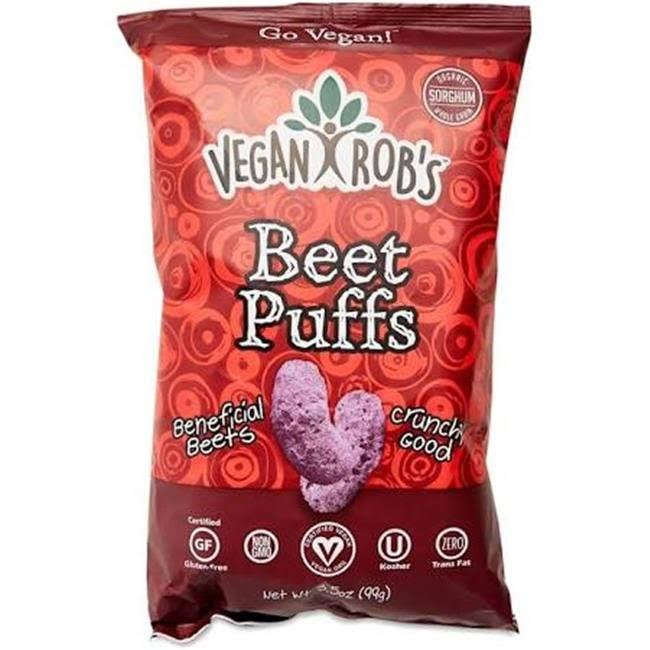 Vegan Robs Beet Puffs - 3.5 oz