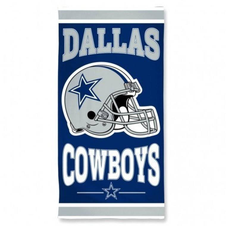 "Wincraft NFL Dallas Cowboys Fiber Beach Towel - 30""x60"""