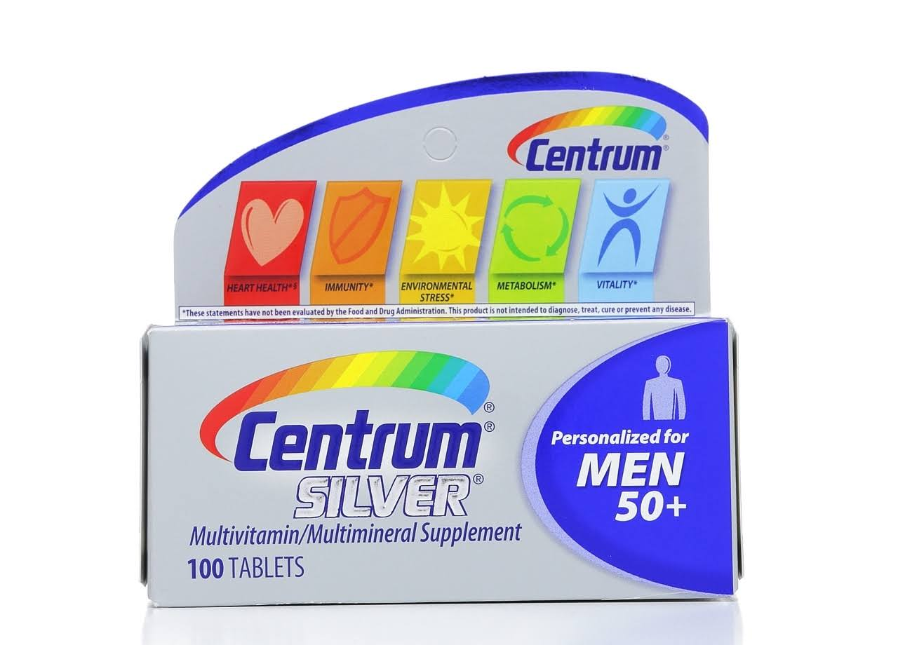 Centrum Silver Ultra Men's Multivitamin / Multimineral Supplement