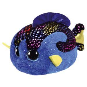 Ty Beanie Babies Soft Plush Toy - Teeny TYS Madie The Blue Fish