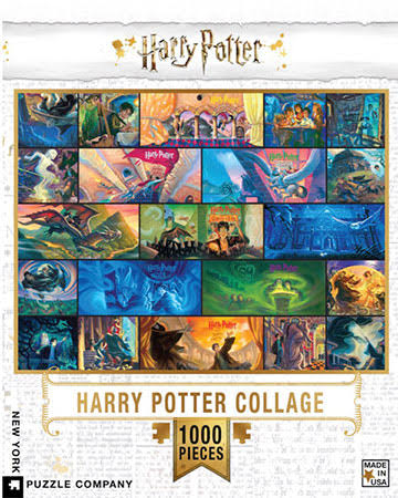 Harry Potter Collage Jigsaw Puzzle - 1000 Piece