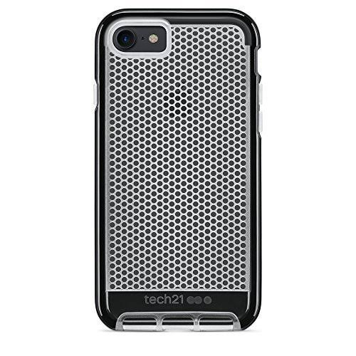 Tech21 iPhone 7 Plus EVO Mesh Protection Case - Clear Black