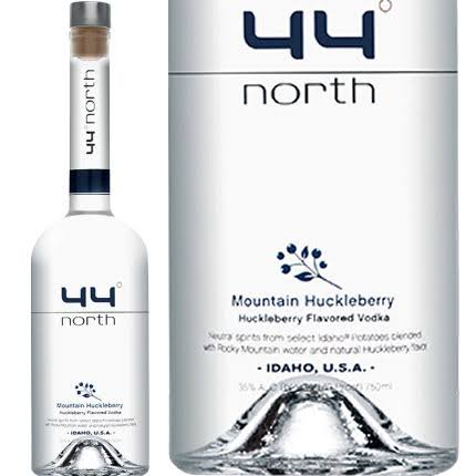 44 Degrees North Mountain Huckleberry Vodka - 750 ml bottle