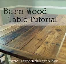 diy barn wood table top betty eddy blog
