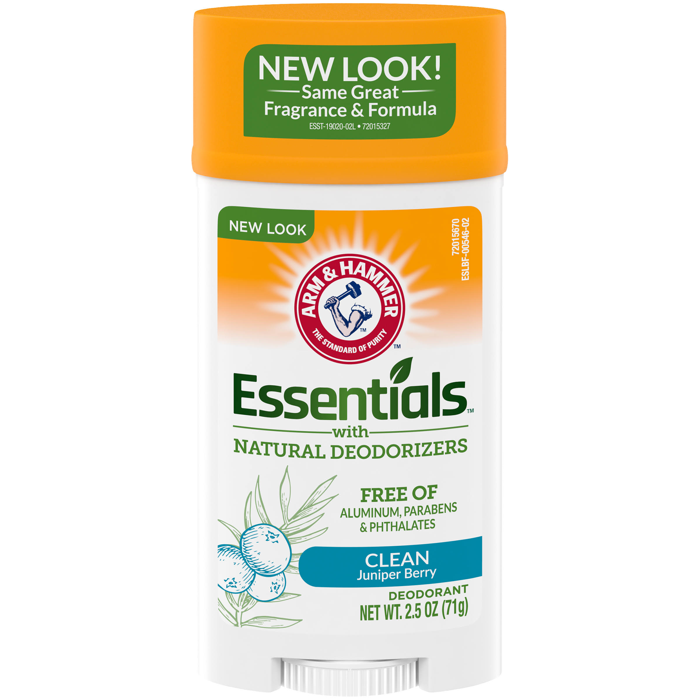 Arm & Hammer Essentials Deodorant - Clean. 2.5oz
