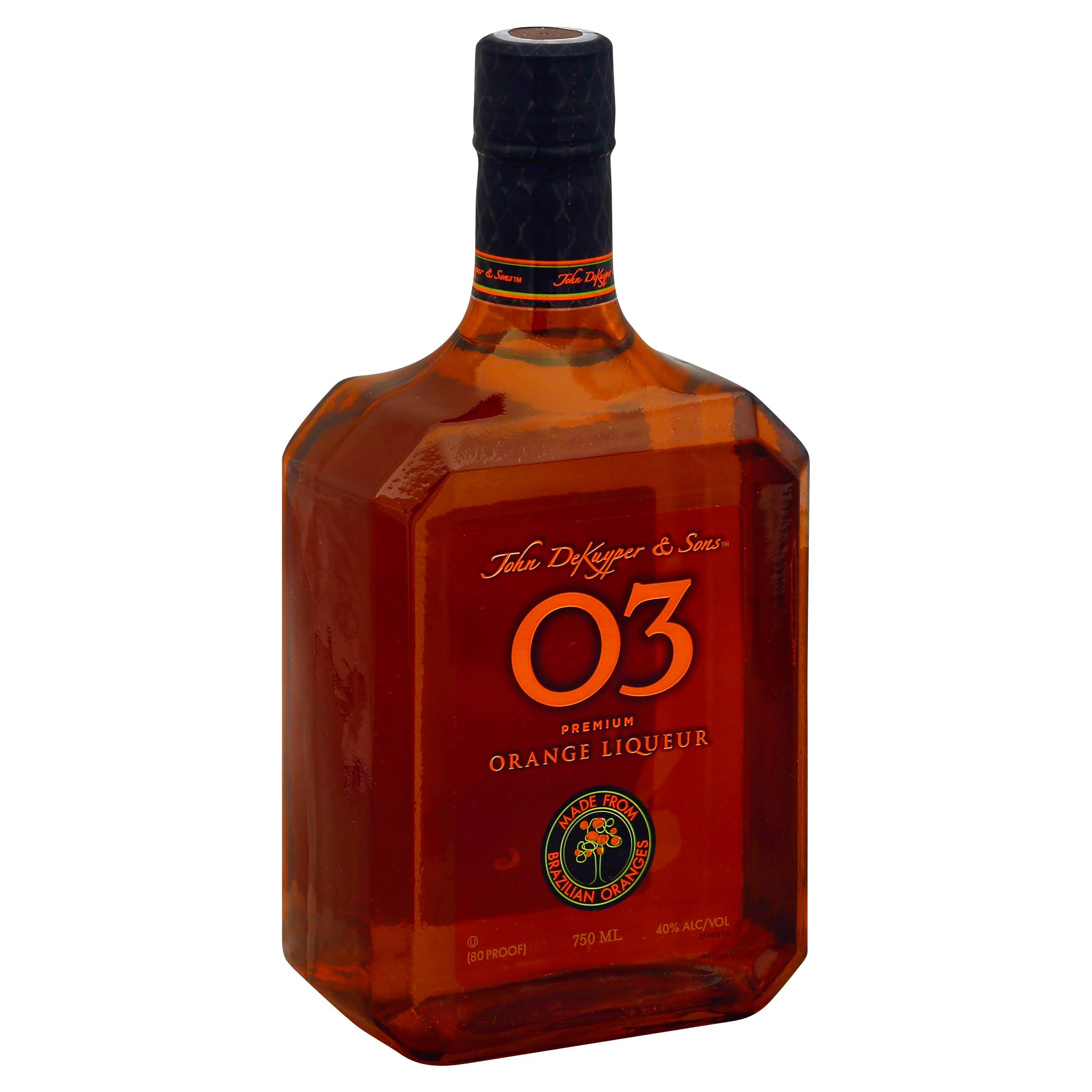 Dekuyper 03 Brazilian Orange Liqueur - 750ml