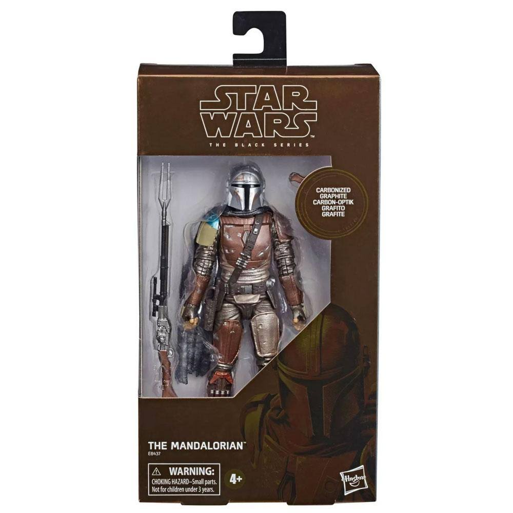 Hasbro Star Wars Black Series Action Figure - The Mandalorian, 6""