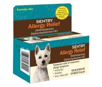 Sentry Allergy Relief For Dogs - 100 Tablets