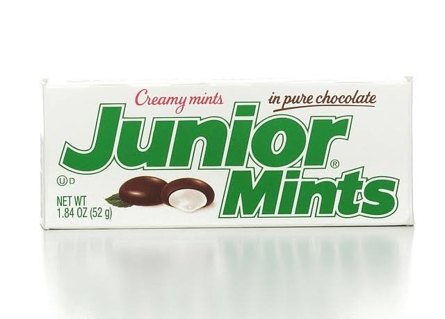 Junior Mints Creamy Mints - 52g, Dark Chocolate