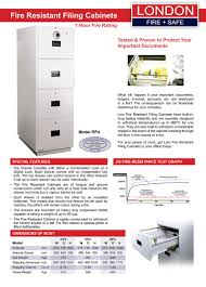 Fire Safe File Cabinet by London Fire U0026 Safe Fire Resistant Filing Cabinets