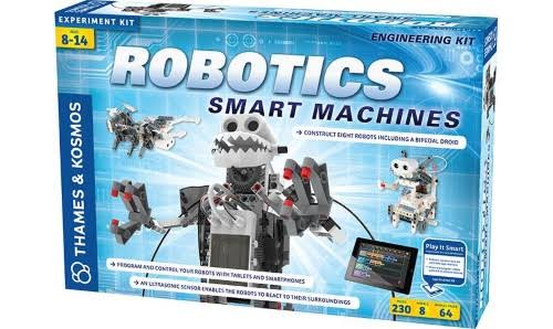 Thames & Kosmos Robotics Smart Machines Science Experiment Kit - 230 Pieces