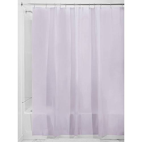 Interdesign Eva Shower Curtain Liner - Lavender