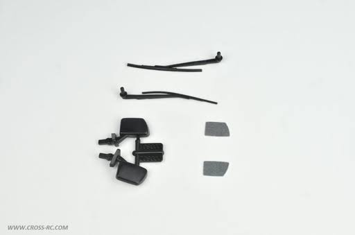 Cross RC Mirrors and Wipers: SG4 SR4 CZR97400350