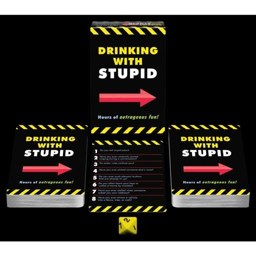 Drinking With Stupid Card Game 2016 Kheper Games 2 Players