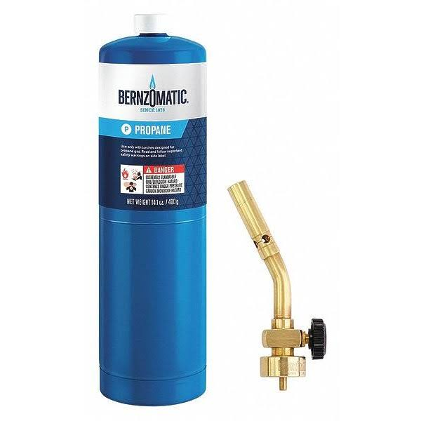Bernzomatic Solid Brass Torch Kit