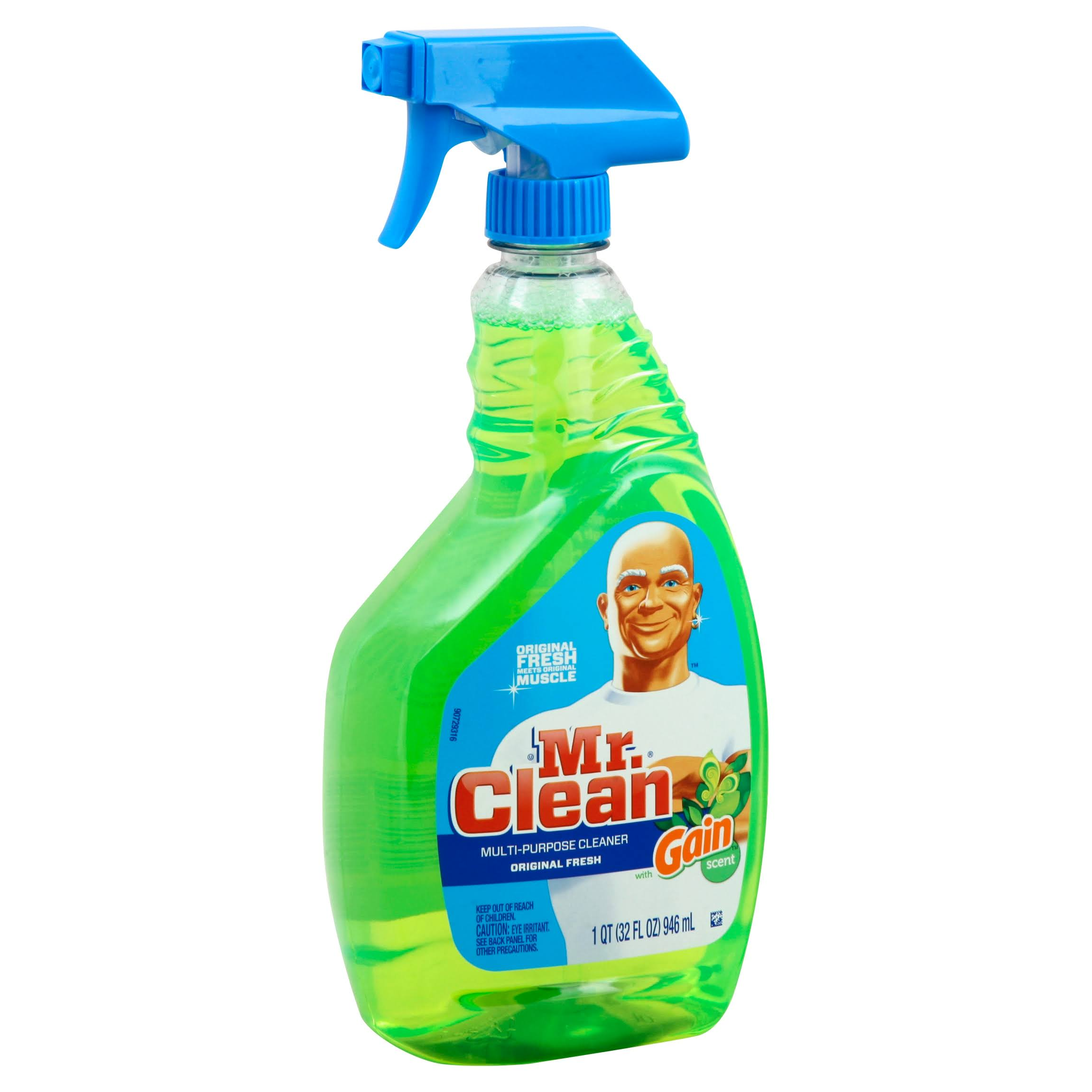 Mr. Clean Gain Multi Surface Spray Cleaner - 32 Oz