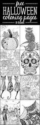 Scary Halloween Coloring Pages Online by Best 25 Halloween Art Ideas On Pinterest Fun Halloween