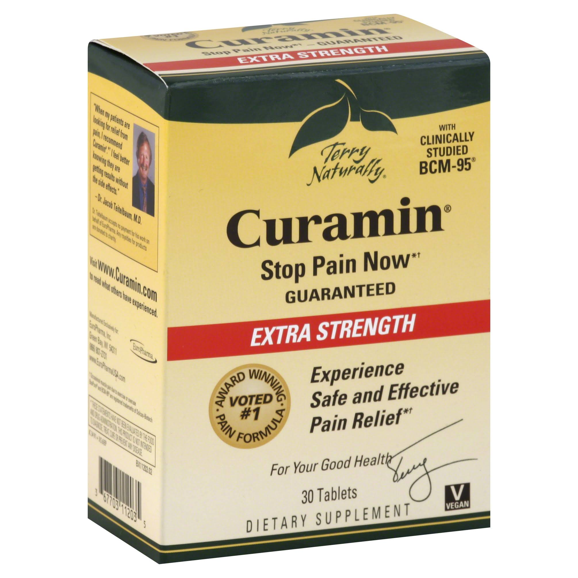 Terry Naturally Curamin - 30 Tablets