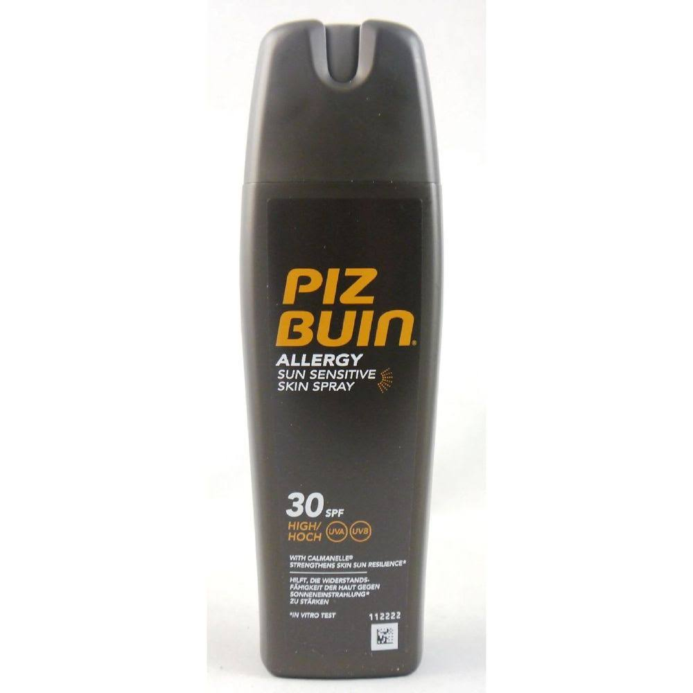 Piz Buin Allergy Sun Sensitive Skin Spray - 30 SPF, High, 200ml