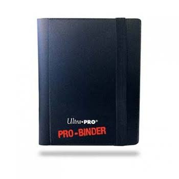Ultra Pro 2-Pocket Pro-Binder - Black