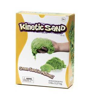 Kinetic Sand - Green, 2.27kg