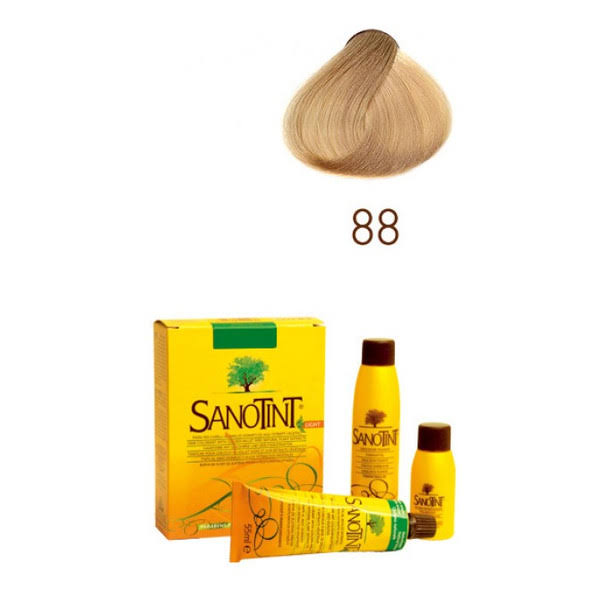 Sanotint Light Natural Hair Dye - 88 Extra Light Blonde, 125ml